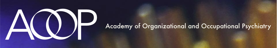 AOOP - Academy of Organizational and Occupational Psychiatry